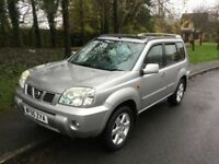 2005 Nissan X-Trail Sport DCI 2.2-1 lady owner-July 2018 mot-full service history-exceptional value