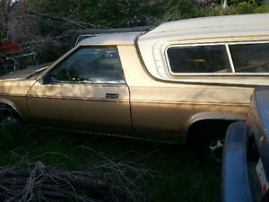 LAST CALL-Dodge Rampage.Only needs throttle cable.battery,air