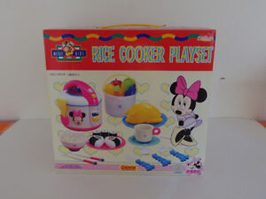 Pretend Play Rice Cooker Playset by Mickey Kids Toy