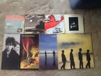 Echo and the bunnymen vinyl collection