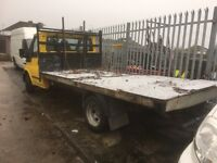 Ford transit 2002 lwb cab chassie spares or repairs no engine recovery