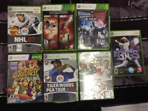 Assorted Xbox  games