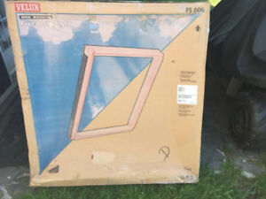 Velux 44-1/4 in. x 45-3/4  Deck-Mount Skylight with Flashing kit