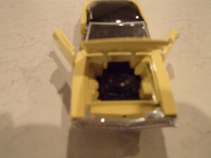 Road Champs 1969 Dodge Charger 1/43 Scale Diecast Car. YELLOW Sarnia Sarnia Area image 6