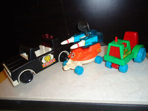 Fisher Price toys: 1970's & up