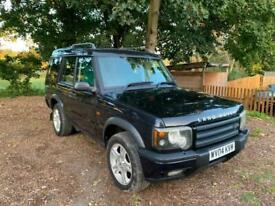 2004 Land Rover Discovery 2.5 Td5 Landmark 7 seat 5dr ESTATE Diesel Manual