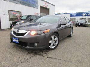 2009 Acura TSX Prem Pkg-LEATHER,S ROOF,ALLOY,WARRANTY,$10495