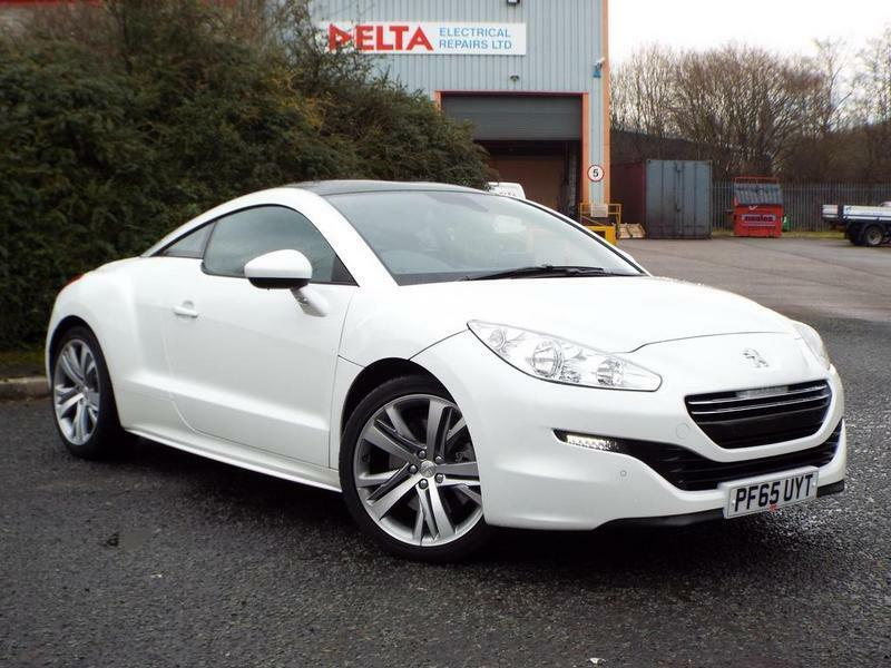 peugeot rcz 2 0 hdi gt 2 door white 2015 in nelson lancashire gumtree. Black Bedroom Furniture Sets. Home Design Ideas