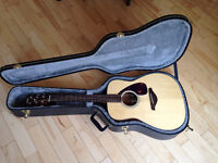 Yamaha Acoustic Guitar with Case