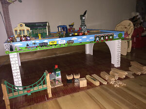 Thomas Train set lot with table