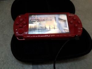 PSP Limited Edition God of War RED