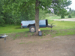 3/4 ton truck box trailer