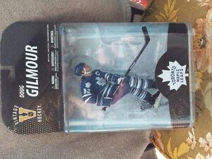 McFarlane Toys Doug Gilmour Maple Leafs Action Figure MIB