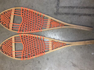 Trapper Style Snowshoes