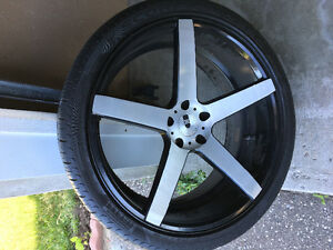 22inc rims and tires for sale