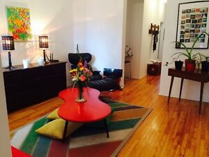 Colocation 1 chambre Mile-end/Outremont–Grand appart lumineux