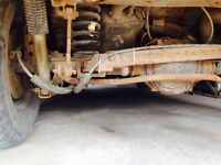 Back axle for a 2002 Chevrolet avalanche. Z71
