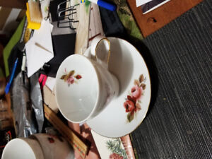 Mikasa cups and saucers for sale