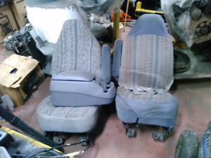 Bucket seats and console or a ford pick up