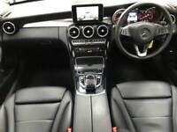 2015 65 MERCEDES-BENZ C CLASS 2.1 C220 D SPORT 4D AUTO 170 BHP DIESEL