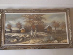 'cabin in the woods' landscape