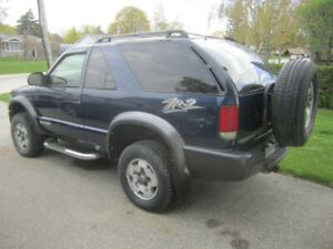 2005 Blazer ZR2   4x4 As-Is   parts car