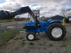 Leyand tractor 70hp 6500 or trade for?
