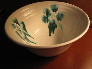 POTTERY LARGE MIXING BOWL