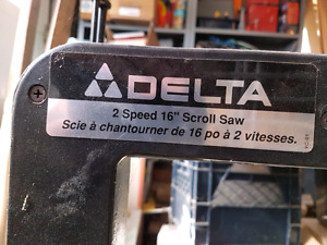 Delta scroll saw w/stand