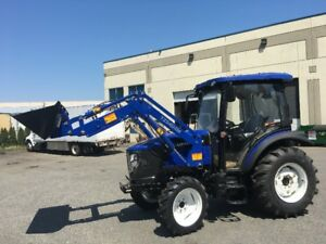 Brand New Lovol TB554 Tractor with Cab and Font End loader
