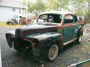 1948 Mercury Coupe and 1947 Ford Coupe ( Project Package Deal)