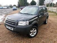 LEFT HAND DRIVE LAND ROVER FREELANDER 2003 LHD not Toyota Honda Jeep Nissan