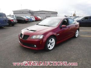 2009 PONTIAC G8 BASE 4D SEDAN3.6L BASE
