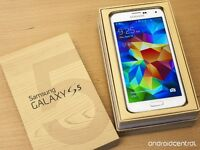 Samsung galaxy S5 brand new unlocked work with wind and mobilici