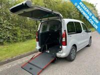 2016 Peugeot Partner Tepee Euro 6 ULEZ 5 Seat Auto 6 Auto Wheelchair Accessible