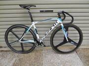 Avanti Race Track Pista Fixie Racing Road Bike Carbon Wheels 51c. Cleveland Redland Area Preview