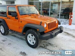 2013 Jeep Wrangler Sport   - $219.00 B/W - Low Mileage