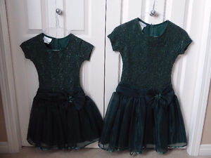 Green dresses for sale.