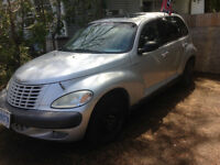 2001 Chrysler PT Cruiser Hatchback AS / IS WHERE IS $500 FIRM