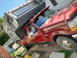 Cheap deal F350 with camper!!