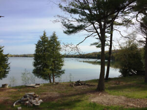 Over 145' Of Waterfront With Private Sandy Beach On Little Lake!