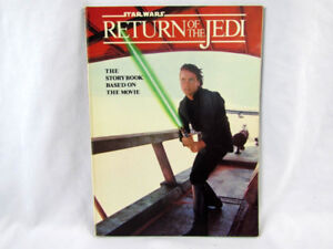 STAR WARS RETURN OF THE JEDI THE STORY BOOK BASED ON THE MOVIE