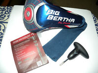 Callaway Alpha Head Cover and Tool