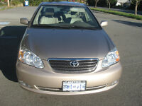 ***** REDUCED ***  2005 Toyota Corolla LE Sedan
