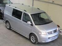 Volkswagen Transporter SWB 2.5TDI 130ps Window van with AIR CON & ** NO VAT **