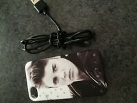 Charger & Case - iPhone 4