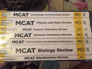 SELLING MCAT PREP BOOKS & FLASH CARDS