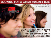 SUMMER STUDENTS WANTED!!!