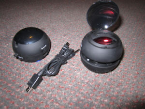 X-Mini™ V1.1 Capsule Speaker Twin-Pack - NEW, out of Pack $17.00