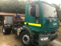 2007 57 IVECO EUROCARGO 180E25 18 TON CHASSIS CAB ONLY 38.000 MILES EURO 5